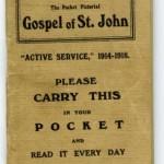 WW1 service Gospel