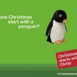 Christmas starts with a penguin