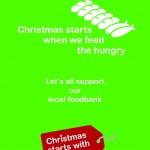 Christmas starts Foodbank