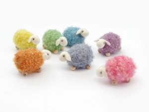 knitted sheep