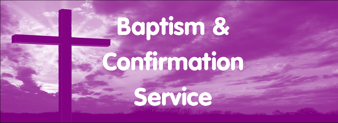 """Service of Baptism and Confirmation"" with Right Revd Mark Rylands, Bishop of Shrewsbury"
