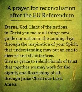 referendum prayer