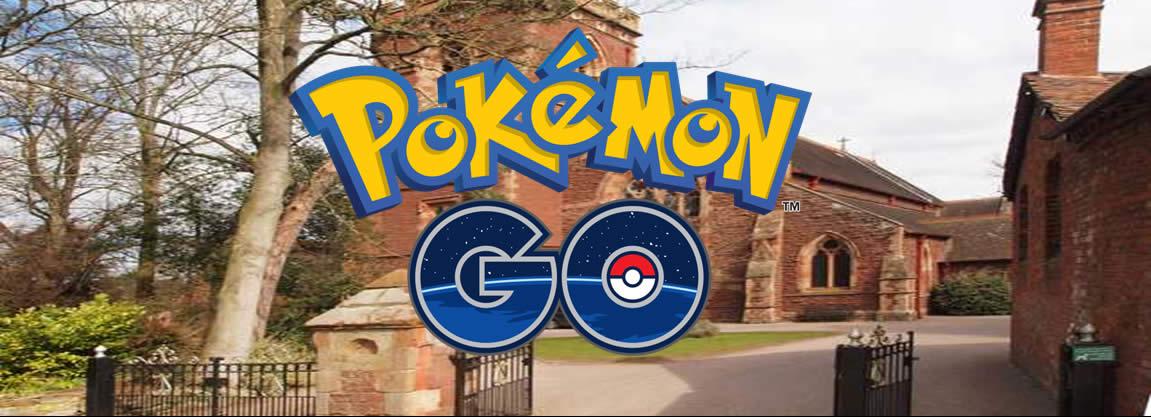 Pokémon Go! to Holy Trinity Meole Brace