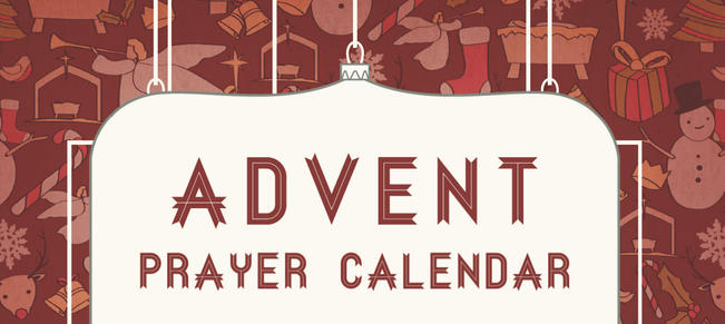 Advent Prayer diary