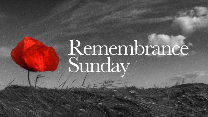 Remembrance Sunday 2017