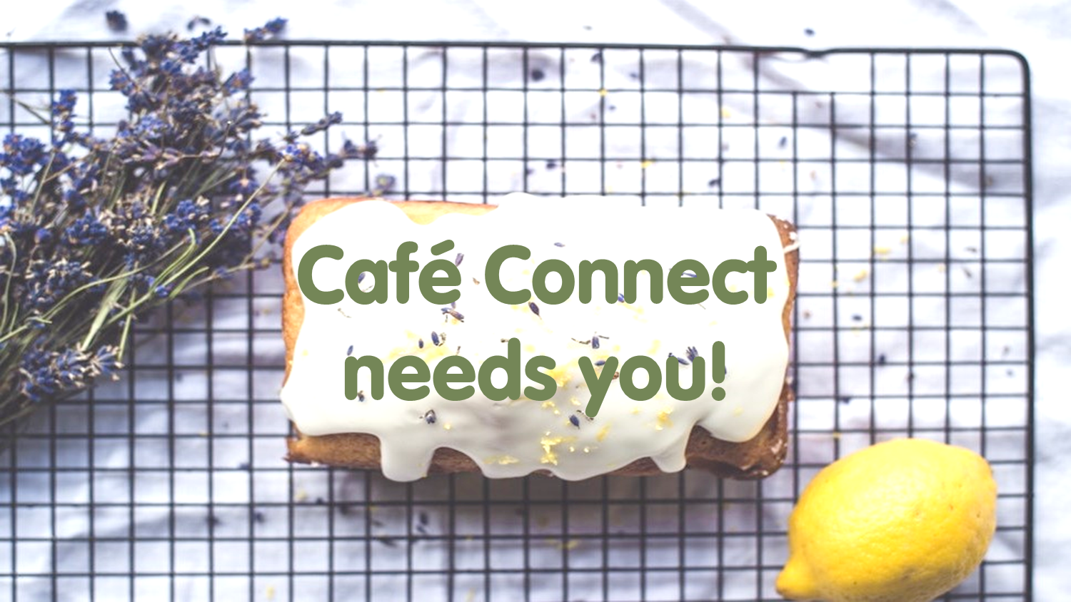 Job opportunity at Cafe Connect