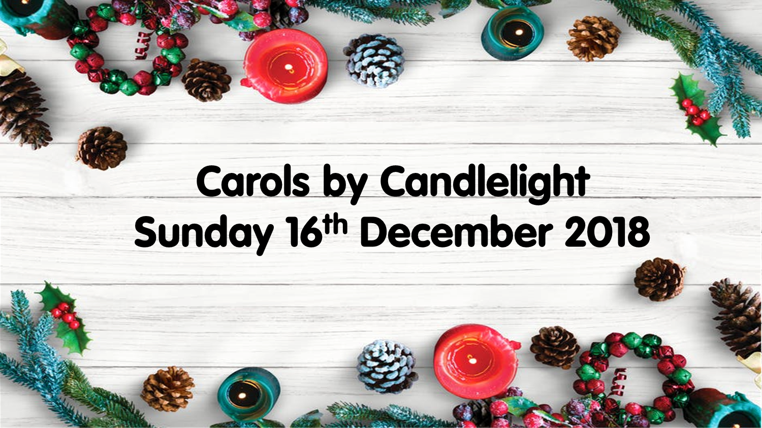 Carols by Candlelight is coming!!