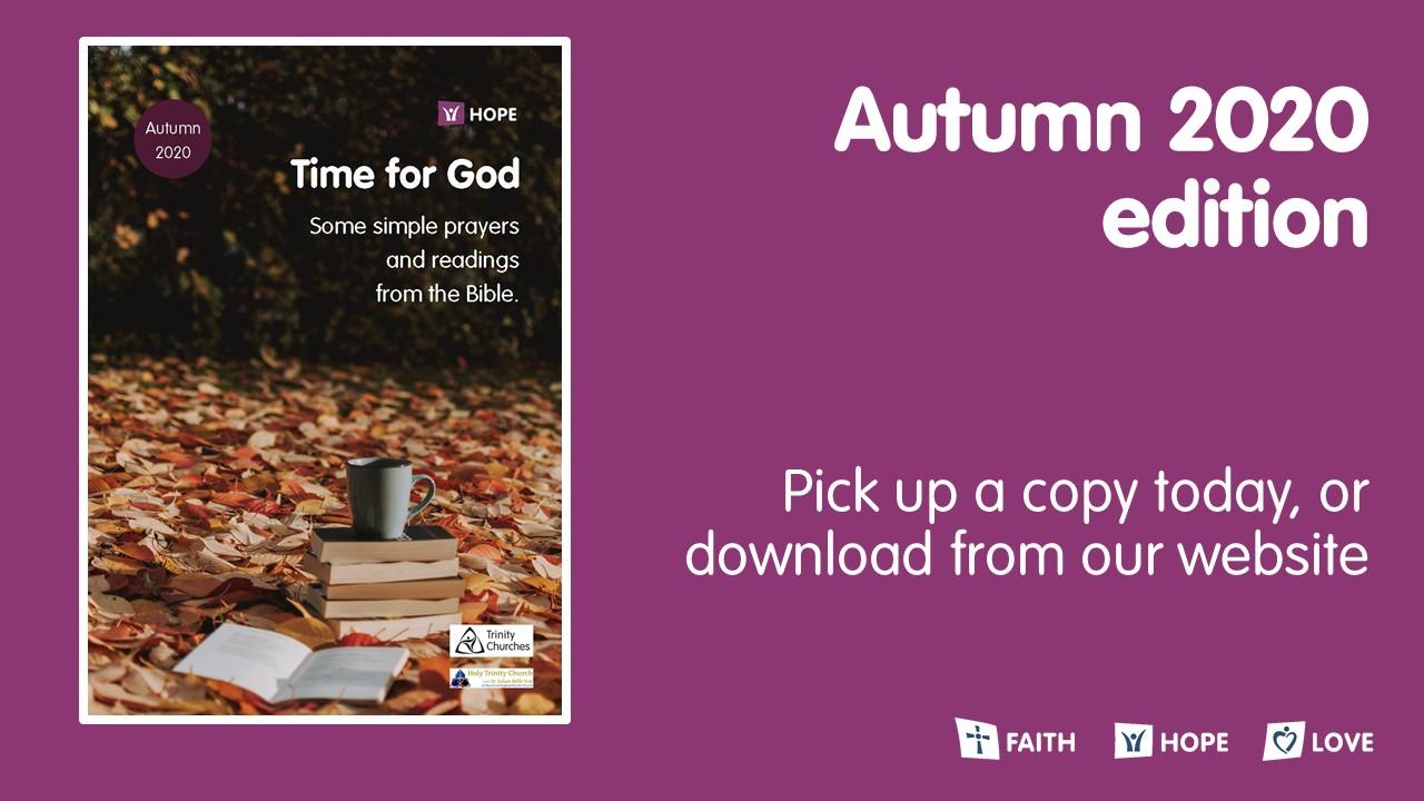 Time for God - Autumn edition