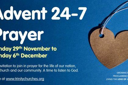Ten days to go till Advent 24-7 prayer
