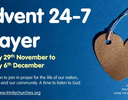Ten days to go till Advent 24-7 prayer