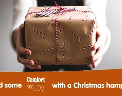 Can you help us with Christmas hampers?
