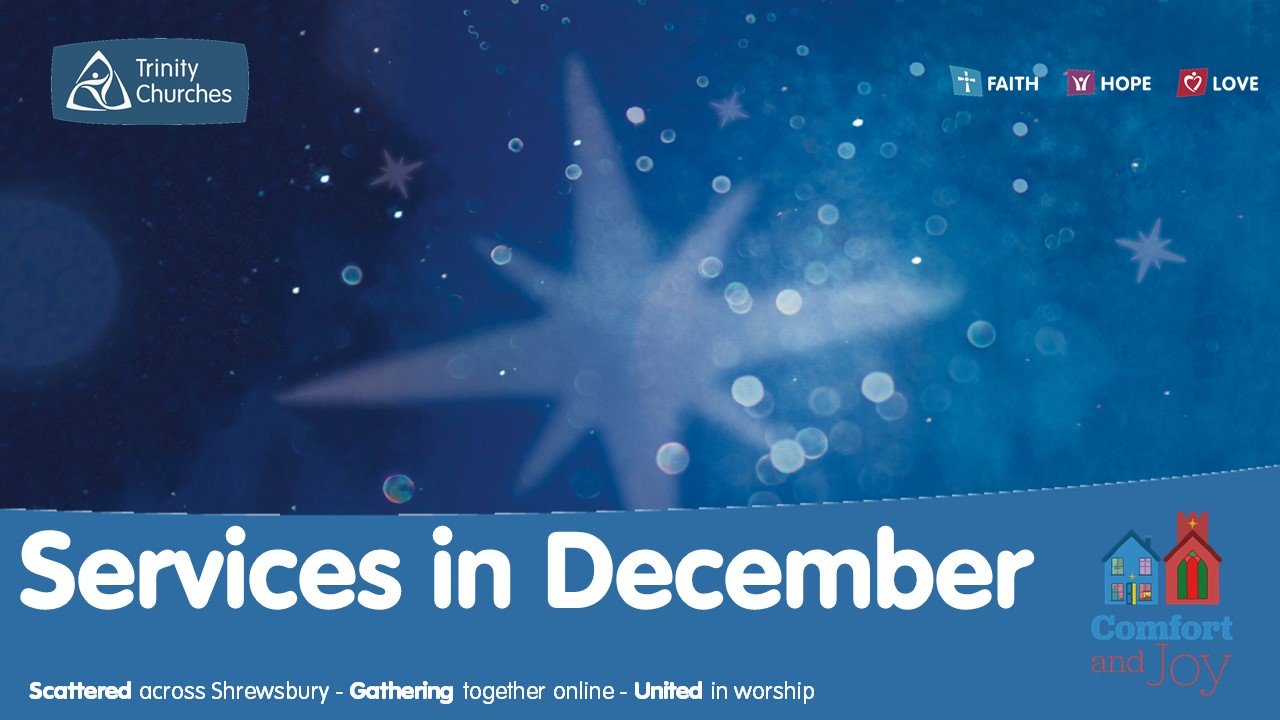 Latest on our Christmas services