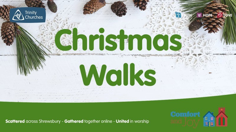 Christmas Walks - join us over Christmas