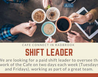 Job - Cafe Connect Shift Leader