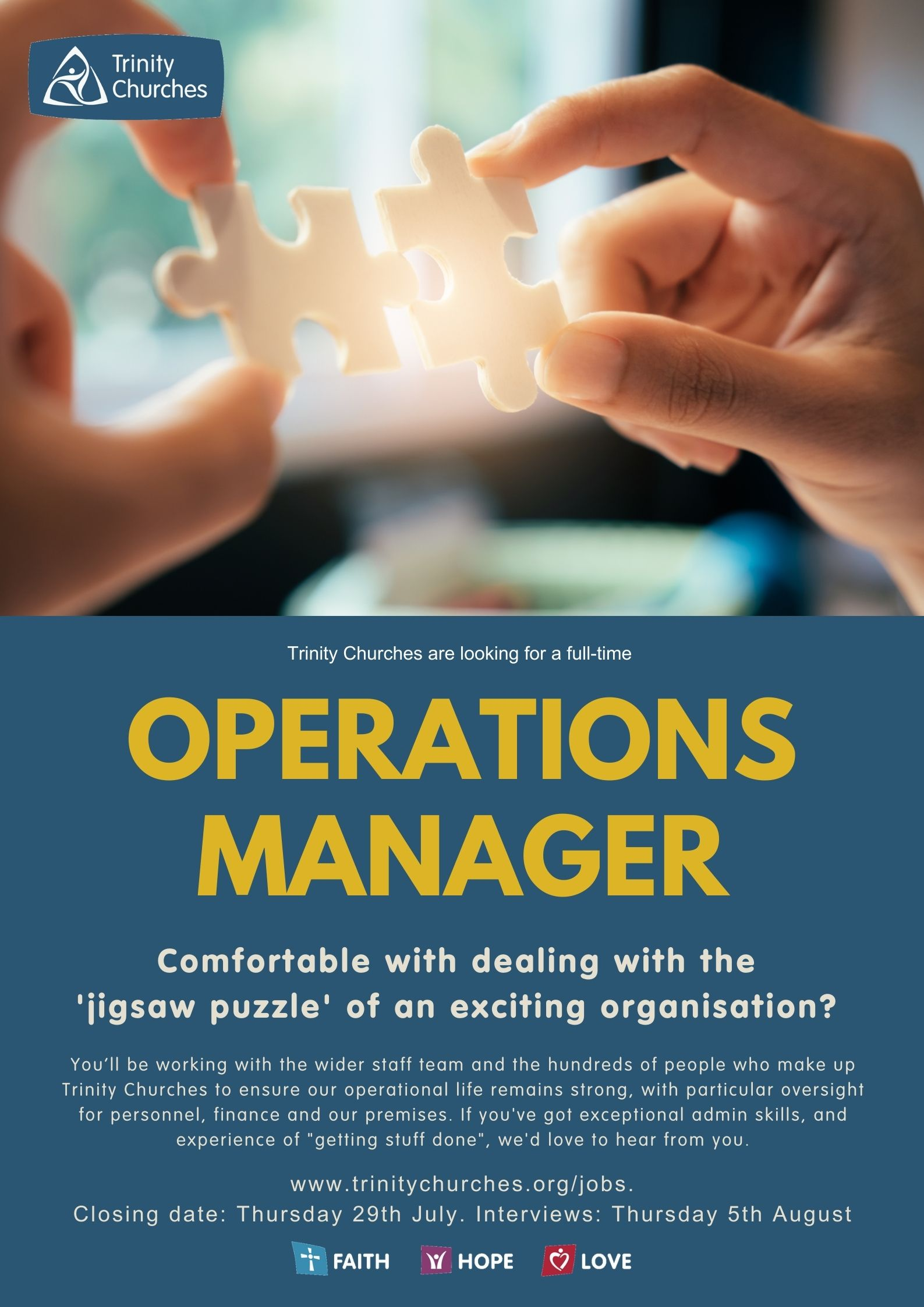 Work with Us - Operations Manager