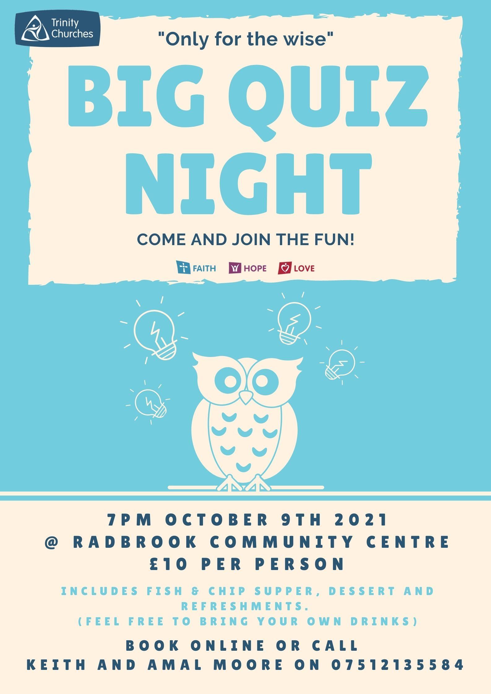 The Big Quiz Night