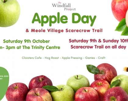 Apple Day Scarecrow Trail Map