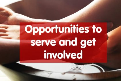Serving and getting involved
